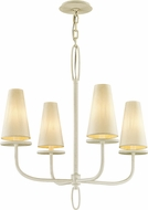 Troy F6285 Marcel White Hanging Chandelier