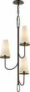 Troy F6294 Marcel Bronze Mini Chandelier Lamp