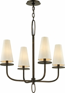 Troy F6295 Marcel Bronze Chandelier Light