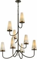 Troy F6298 Marcel Bronze Chandelier Light
