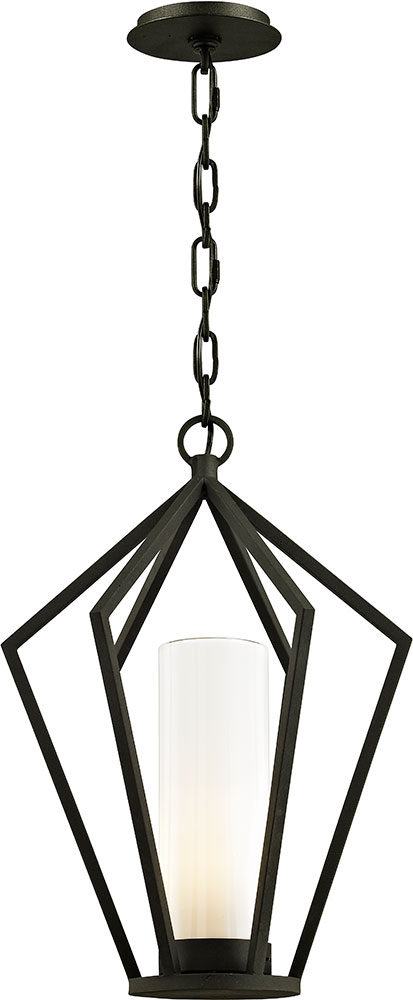 Troy F6347 Whitley Heights Contemporary Black Exterior Pendant Light ...