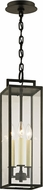 Troy F6387 Beckham Contemporary Forged Iron Exterior Pendant Hanging Light