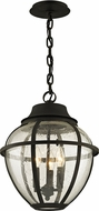 Troy F6457 Bunker Hill Bronze Outdoor Ceiling Pendant Light