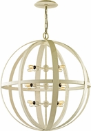 Troy F6558 Flatiron White 30.5  Pendant Light Fixture