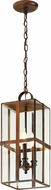 Troy F6567HB Rutherford Brass Chemical Outdoor Pendant Lighting Fixture