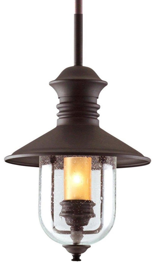 Lovely Troy F9363NB Old Town Nautical Outdoor Pendant Light   12.5 Inches Wide.  Loading Zoom