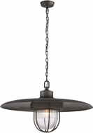 Troy FL3898 Acme Retro Solid Aluminum LED Hanging Pendant Light