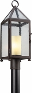Troy P4475 Hidden Hills Traditional Solid Aluminum Outdoor Post Light