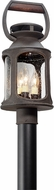 Troy P4515 Old Trail Traditional Solid Aluminum Exterior Post Lighting Fixture