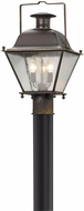Troy P5075NR Wellesley Natural Rust Exterior Post Lamp