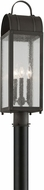 Troy P5094CI Bostonian Charred Iron Exterior Post Light
