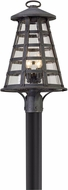Troy P5165 Benjamin Vintage Iron Outdoor Post Light Fixture