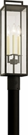 Troy P6385 Beckham Contemporary Forged Iron Outdoor Lamp Post Light