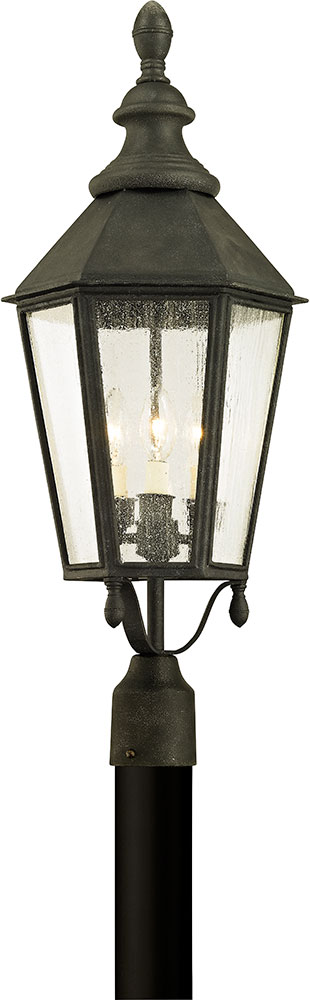 Troy p6435 savannah vintage iron outdoor lighting post light tro p6435 troy p6435 savannah vintage iron outdoor lighting post light loading zoom aloadofball Image collections