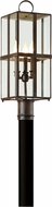 Troy P6565CB Rutherford Brass Chemical Outdoor Post Lighting