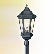 Troy PCD6835BZ Verona Cast Aluminum Outdoor Lamp Post Light Fixture