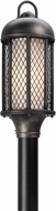 Troy PF4485 Signal Hill Hand Worked Iron Fluorescent Exterior Post Lighting