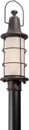 Troy PL4445 Maritime Hand Worked Iron LED Outdoor Post Light