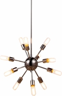 Urban Classic 1134D21PN Cork Modern Polished Nickel Chandelier Light