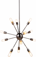 Urban Classic 1134D30PN Cork Modern Polished Nickel Lighting Chandelier