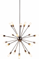 Urban Classic 1134G40PN Cork Modern Polished Nickel Chandelier Light