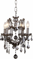 Urban Classic 1138D13RS-SS-RC Elena Raw Steel Mini Chandelier Light