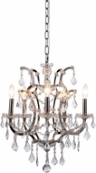 Urban Classic 1138D18PN-RC Elena Polished Nickel Mini Ceiling Chandelier