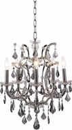 Urban Classic 1138D18PN-SS-RC Elena Polished Nickel Mini Hanging Chandelier