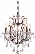 Urban Classic 1138D18RI-RC Elena Rustic Intent Mini Chandelier Light