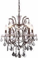 Urban Classic 1138D18RI-SS-RC Elena Rustic Intent Mini Chandelier Lighting