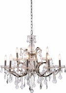 Urban Classic 1138D26PN-RC Elena Polished Nickel Chandelier Light