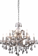 Urban Classic 1138D26PN-SS-RC Elena Polished Nickel Ceiling Chandelier