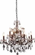 Urban Classic 1138D26RI-SS-RC Elena Rustic Intent Chandelier Light