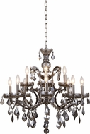 Urban Classic 1138D26RS-SS-RC Elena Raw Steel Lighting Chandelier