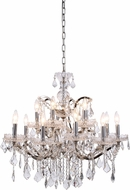 Urban Classic 1138D30PN-RC Elena Polished Nickel Chandelier Lamp