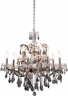 Urban Classic 1138D30PN-SS-RC Elena Polished Nickel Chandelier Light