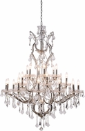 Urban Classic 1138G41PN-RC Elena Polished Nickel Lighting Chandelier
