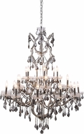 Urban Classic 1138G41PN-SS-RC Elena Polished Nickel Chandelier Lamp
