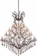 Urban Classic 1138G60RS-RC Elena Raw Steel Ceiling Chandelier