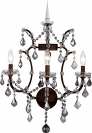 Urban Classic 1138W17RI-SS-RC Elena Rustic Intent Sconce Lighting