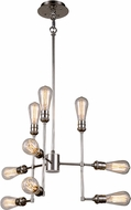 Urban Classic 1139D23PN Ophelia Contemporary Polished Nickel Wall Sconce Lighting