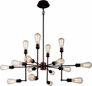 Urban Classic 1139D43CB Ophelia Modern Cocoa Brown Wall Light Fixture