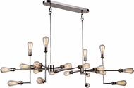 Urban Classic 1139D49PN Ophelia Contemporary Polished Nickel Kitchen Island Lighting