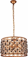 Urban Classic 1204D20GI-RC Madison Golden Iron 20  Drum Pendant Light