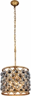 Urban Classic 1206D14GI-RC Madison Golden Iron 14  Drum Hanging Light