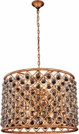 Urban Classic 1206D27GI-RC Madison Golden Iron 27.5  Drum Hanging Light Fixture