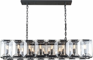 Urban Classic 1212D53FB Monaco Flat Black (Matte) Kitchen Island Light Fixture