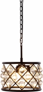 Urban Classic 1213D12MB-RC Madison Mocha Brown Hanging Pendant Light