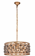 Urban Classic 1213D20GI-RC Madison Golden Iron 20  Drum Hanging Lamp