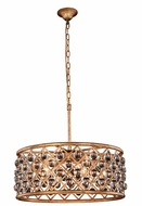 Urban Classic 1213D25GI-RC Madison Golden Iron 25  Drum Hanging Light
